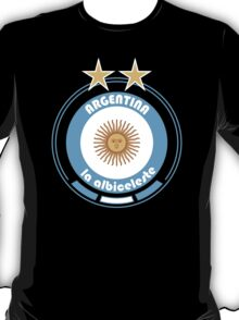 World Cup Football 5/8 - Team Argentina T-Shirt