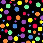 Colored Polka Dots by kasseggs