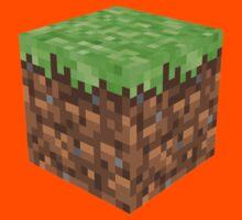 Blockcraft - grass Kids Clothes