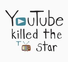 YouTube Killed the TV Star Kids Clothes
