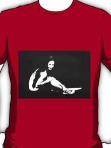 Nude Woman Sitting on Floor 1069.01b T-Shirt