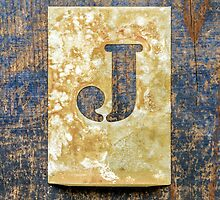 Letter J by Ricard Vaqué