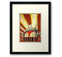 OBEY Version 2 Framed Print