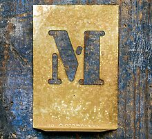 Letter M by Ricard Vaqué
