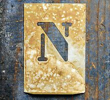 Letter N by Ricard Vaqué