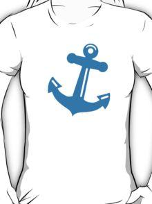 Blue anchor T-Shirt