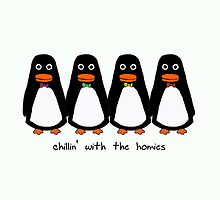 Penguins Wearing Bow Ties by hiraeth
