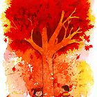 Around the Autumn Tree by Whitney Mattila