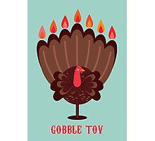 Happy Thanksgivukkah! Photographic Print