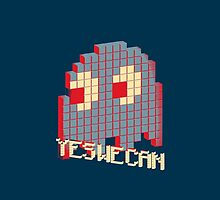 Optimistic Game Villains: Pacman Ghost (Cases) by dudewithhair