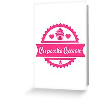 Cupcake Queen Greeting Card