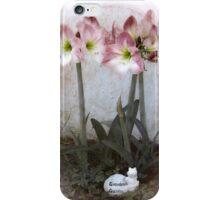 Grandma's Amaryllis Garden iPhone Case/Skin