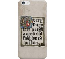 Sherlock Moriarty Calligraphy iPhone Case/Skin