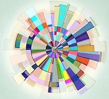 Abstract Color Wheel by perkinsdesigns