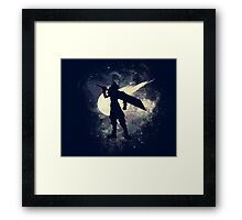 Cloud Space Framed Print