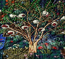 Pomegranate tree by Bozena Wojtaszek
