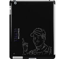 Vettel and The Finger iPad Case/Skin