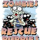 Even Zombies Rescue Puppies by AngelGirl21030