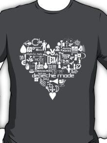 Depeche Mode : I Love DM - White T-Shirt