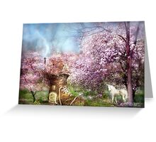 Once Upon A Springtime Greeting Card