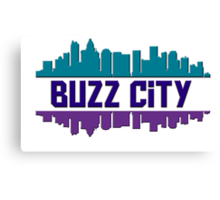 Buzz City Canvas Print