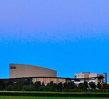 Milton Keynes Theatre, Sunrise by crashbangwallop