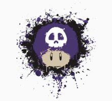 Abstract Super Mario Poison (purple) Mushroom Kids Clothes