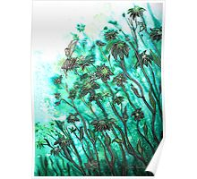 Fairy Flowers  Poster
