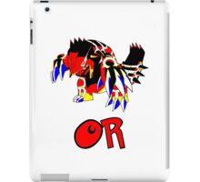 Primal Groudon - Omega Ruby iPad Case/Skin