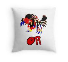 Primal Groudon - Omega Ruby Throw Pillow