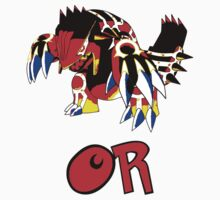 Primal Groudon - Omega Ruby Kids Clothes