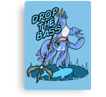 Drop the Bass! Canvas Print