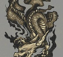 Golden Dragon by Lou Patrick Mackay