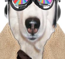best dog work like aviator Sticker