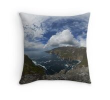 Bunglas - Highest Sea Cliffs in Europe? Throw Pillow