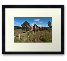 Three Chimneys Framed Print