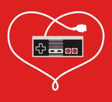 Love Nintendo NES by hypetees