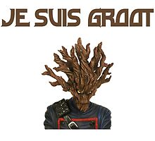 I Am Groot French by zacharyskaplan