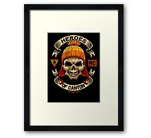 Heroes of Canton Bike Club Framed Print