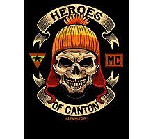Heroes of Canton Bike Club Photographic Print