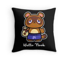 Hello Nook Throw Pillow
