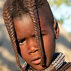 Young Himba Girl by Graeme  Hyde