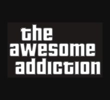 The Awesome Addiction Merchandise by BaileyAU