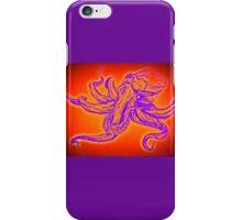 Neon Octopus 3 iPhone Case/Skin