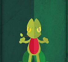 Pokemon - Treecko #252 by yaz17