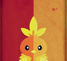 Pokemon - Torchic #255 by yaz17