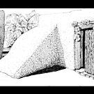 Entry to DeGrazia's Chapel by James Lewis Hamilton