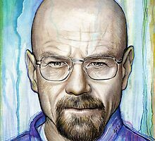 Walter White - Breaking Bad by OlechkaDesign