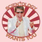 Scientology Tee Shirt by MILLAR13
