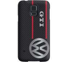 GTI black Samsung Galaxy Case/Skin